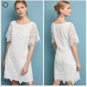 Anthropologie Charleston Mini Dress